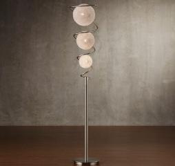 Diya Floor Lamp by Homelegance