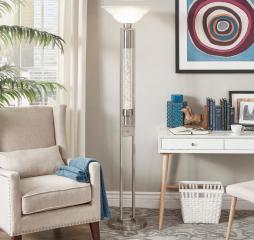 Lambart Floor Lamp by Homelegance