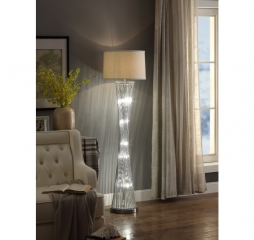 Crocus Floor Lamp by Homelegance