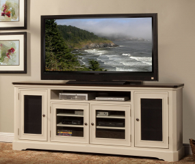 Hazelnut 84″ TV Console by North American Wood