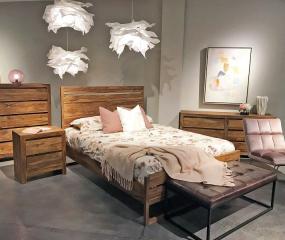 Urban Mid Century Modern Bed by Porter