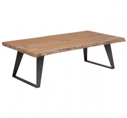Carmel Live Edge Acacia Wood Coffee Table by Porter