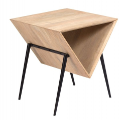 Asymmetric End Table by Porter
