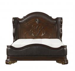 Royal Highlands Sleigh Bed by Homelegance