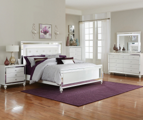 Alonza Bed by Homelegance