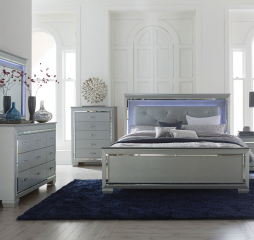 Allura Bed by Homelegance