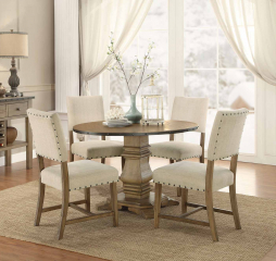 Veltry Round Dining Table by Homelegance