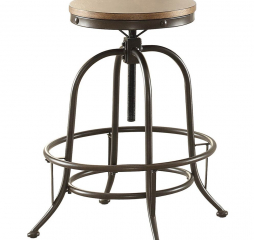 Angstrom Counter Height Stool w/ Adjustable Height by Homelegance