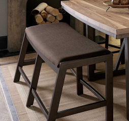 Compson 60″ Counter Height Bench by Homelegance
