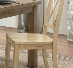 Janina Side Chair by Homelegance