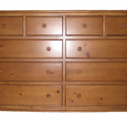 Hepburn Mule Dresser w/ Ten Drawers by North American Wood