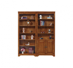 Heritage Open Bookcase by Winners Only