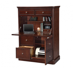 Canyon Ridge 41″ Computer Armoire by Winners Only