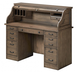 Eastwood 54″ Rolltop Desk by Winners Only