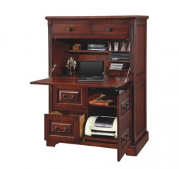 Country Cherry 41″ Computer Armoire by Winners Only