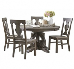 Toulon Round Dining Table by Homelegance