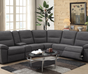 Alberta 6 piece Sectional by Emerald Home Furnishings