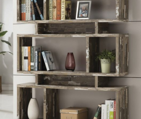 Rustic Contemporary Bookcase by Coaster