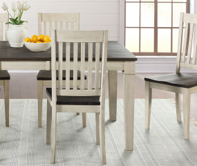 Huron Slatback Side Chair by A-America