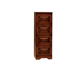 Country Cherry Four Drawer File Cabinet by Winners Only