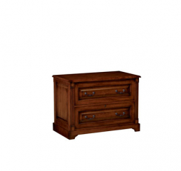 Country Cherry Two Drawer Lateral File Cabinet by Winners Only
