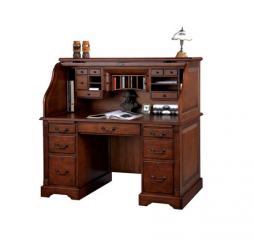 Country Cherry 57″ Roll Top Desk by Winners Only