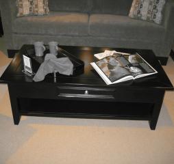 Kona Rectangular Coffee Table w/ One Drawer by North American Wood