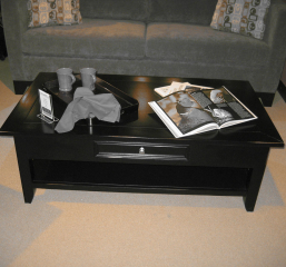 Kona Rectangular Coffee Table w/ One Drawer by North American Wood