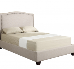 Abigail Upholstered Queen Bed Kit by Emerald Home Furnishings