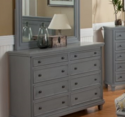 City Eight Drawer Dresser by North American Wood
