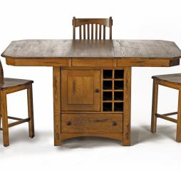Laurelhurst Wine Storage Gather Table by A America