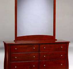 Clove Six Drawer Dresser by Night and Day