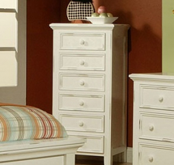 Monroe Kids Bedroom Six Drawer Lingerie Chest by North American Wood