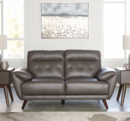 Sissoko-Gray Loveseat Signature Design by Ashley