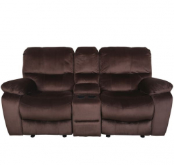 Ramsey Console Glider Reclining Loveseat by Porter