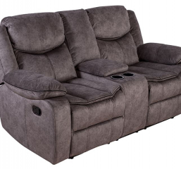Logan Reclining Console Loveseat by Porter