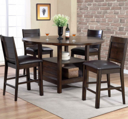 Madison Pub Table w/ Four Drop Leaves by Urban Styles