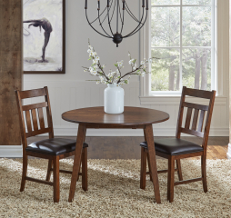 Mason Round Drop Leaf Table by A America