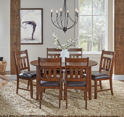 Mason Oval Extending Leg Table by A America
