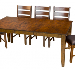 Mason 60″ Rectangular Table w/ 12″ Butterfly Leaf by A America