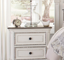 Baylesford Nightstand by Homelegance