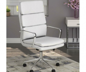 Upholstered High Back Office Chair by Coaster
