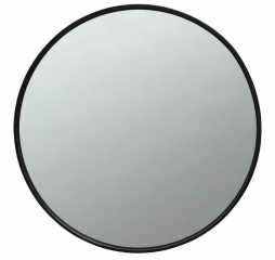 Black Round Mirror by Coaster