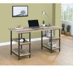 Skelton Four Shelf Writing Desk by Coaster