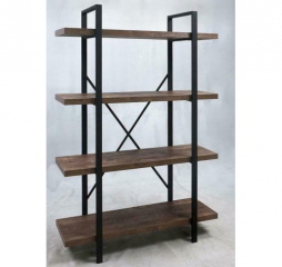 Tolar 4-Tier Open Shelving Bookcase by Coaster