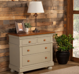 San Jose Four Drawer Nightstand by North American Wood