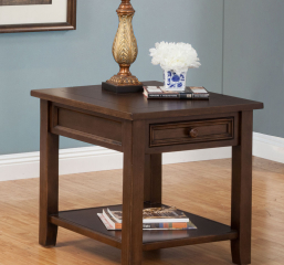 Kona End Table w/ One Drawer by North American Wood