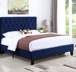 Amelia Upholstered Bed Kit by Emerald Home Furnishings