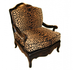 Nottingham Exposed Wood Accent Chair by Omnia
