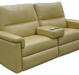 Novara Reclining Sofa w/ Theater Arm by Omnia